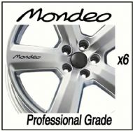FORD MONDEO (OLD) CAR WHEEL DECALS